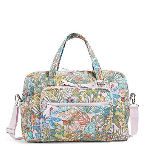 Vera Bradley Damen Recycled Cotton Weekender Travel Bag Reisetasche, Regenwald-Baldachin, Einheitsgröße