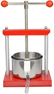 0.53 Gal Fruit Wine Press - 100% Natural Juice Making for Apple/Carrot/Orange/Berry/Vegetables,Food-Grade Stainless Steel ...