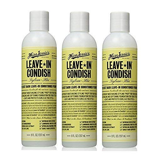 Miss Jessie's Leave In Condish-8 oz (Pack of 3)