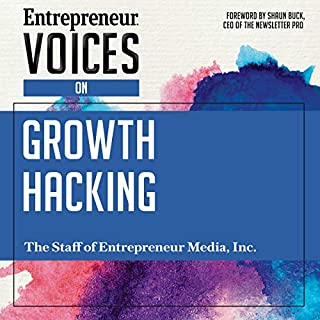Entrepreneur Voices on Growth Hacking audiobook cover art