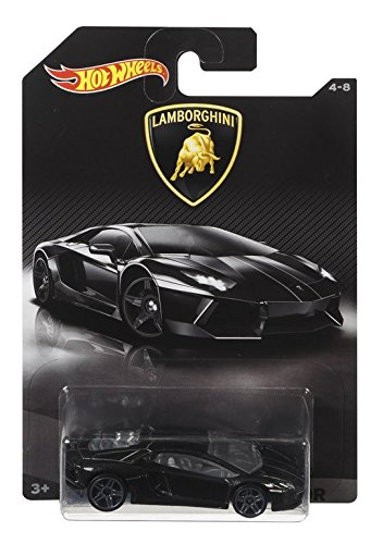 Hot Wheels - Vehículo Lamborghini srt, 15 cm, 1 unidad (Mattel DWF21) [modelos surtidos]