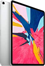Apple iPad Pro (12.9-inch, Wi-Fi + Cellular, 256GB) - Silver (Renewed)