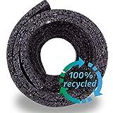 Hinrichs Antivibrationsmatte für Waschmaschinen - 60 x 60 cm Antirutschmatte Waschmaschine - Zuschneidbare Lärmschutzmatte als Waschmaschinenunterlage - Rubber Mat… - 5