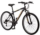 Schwinn High Timber Mountain Bike, Steel Frame, 18-Inch Wheels, Black