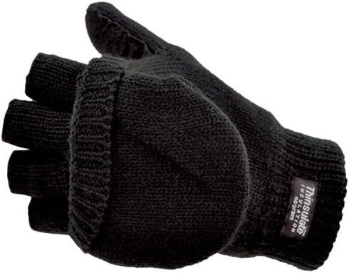 Manzella Convertible-50 Glove, Black, Medium