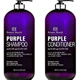 Best Purple Shampoos - BOTANIC HEARTH Purple Shampoo and Conditioner Set Review