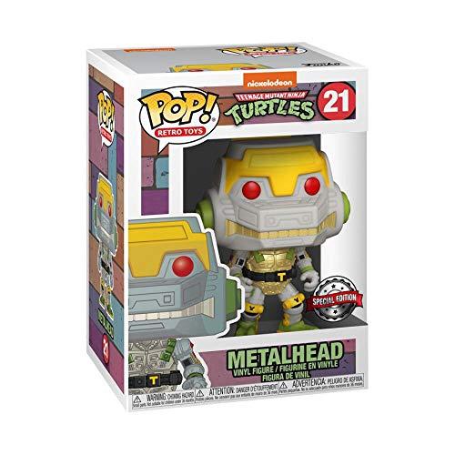 Funko Pop!  52245 Teenage Mutant Ninja Turtles - Metalhead Pop!  Figurine en vinyle - Édition spéciale exclusive # 21