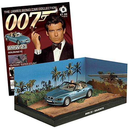 007 James Bond Car Collection #9 compatibile con BMW Z3 (GoldenEye)