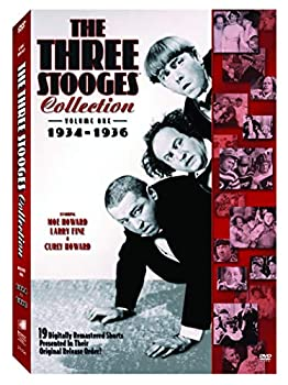 The Three Stooges Collection Vol 1  1934-1936