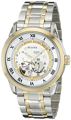 Bulova Men's 98A123 BVA-SERIES Two-Tone Stainless Steel...