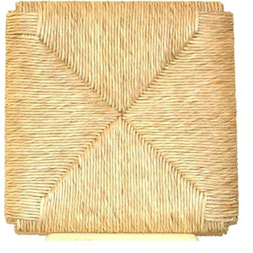 Asiento de repuesto para silla de paja - Modelo Sigfrido - Juego de 4 piezas -