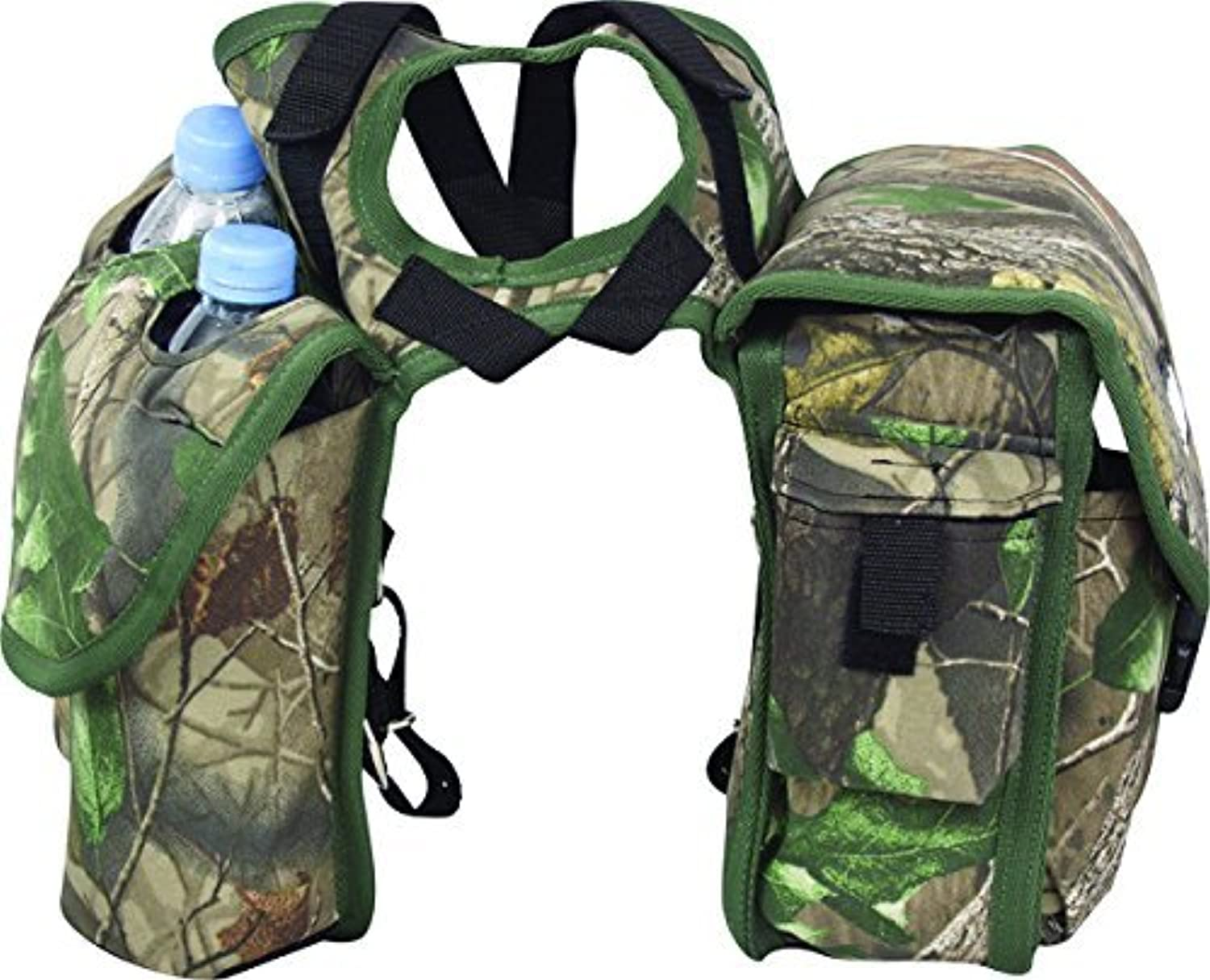 Cashel Quality Deluxe Medium Horse Saddle Pommel Horn Bag Insulated Padded Pockets Two Water Bottle Pockets Camera Cell Phone Pocket 600 Denier Material Size Medium color Choice
