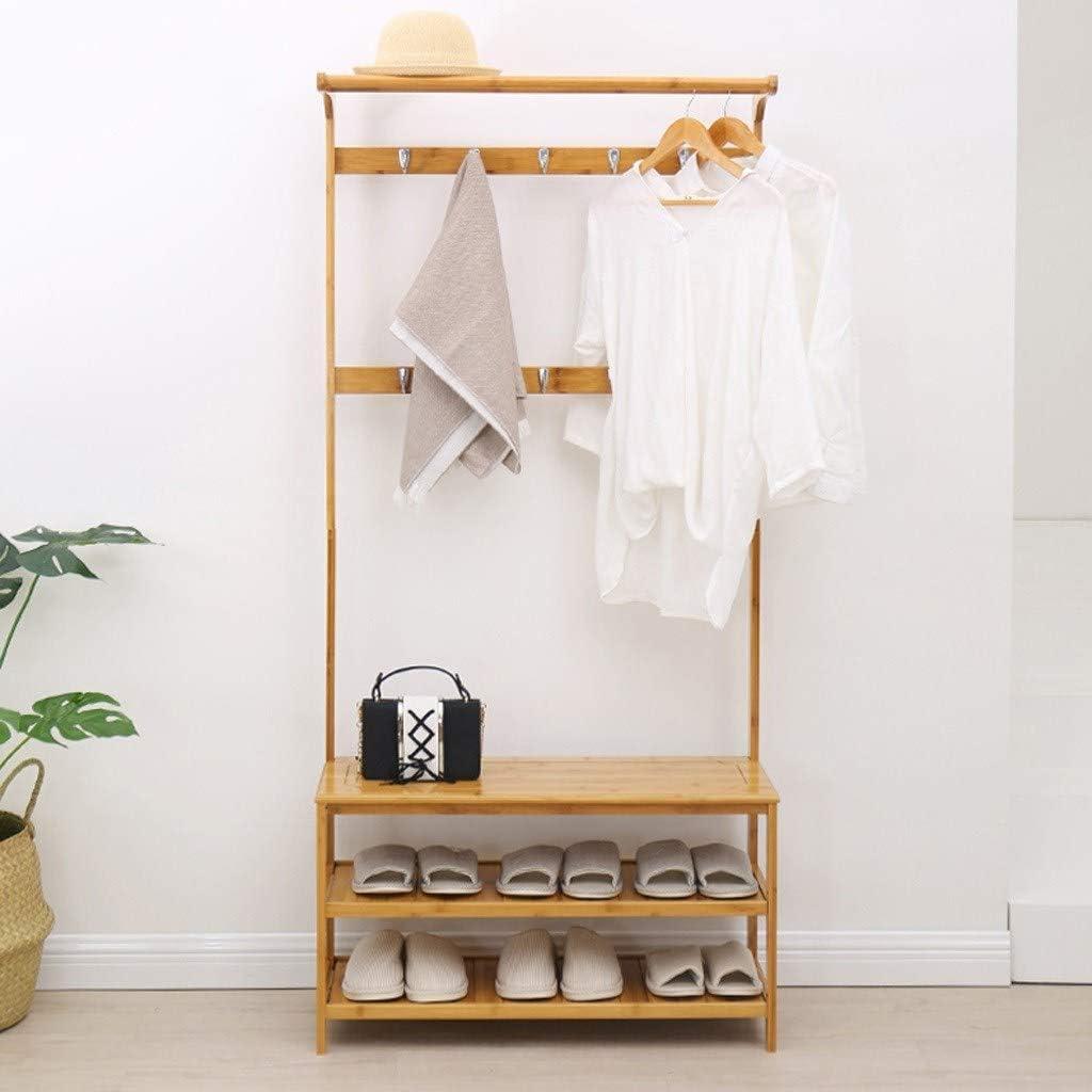 Coat Rack Shoe Bench,Hall Tree Max 64% OFF Luxury Storage Entryway Hanging Shelf