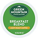 Green Mountain Coffee Roasters Breakfast Blend, Single-Serve Keurig K-Cup Pods, Light Roast Coffee, 72 Count 24 Taste: an eye-opening Decaf as delightful as the dawn itself. Clean and bright, with balanced sweetness, nutty flavor, and a silky mouthfeel. Roast: light roast, 100% Arabica decaffeinated coffee and is certified Orthodox Union Kosher (U) Sustainability: committed to 100% responsibly sourced coffee by end of 2020