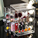Sooyee Clear 3 Vertical Drawer Earring Display Stand Organizer(Holds 108 Pairs), Jewelry Hanger Storage Box