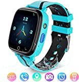 Kids Smart Watch with GPS Tracker IP67 Waterproof Smart Watches with 1.4'' HD Touch Screen SOS Anti - Lost LBS Tracker Camera Flashlight Alarm Clock Voice Chat for Girls Boys Birthday Gifts