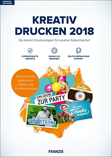 FRANZIS Kreativ Drucken (2018) Software