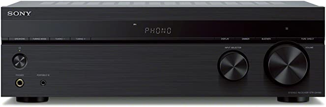 Sony STRDH190 2-ch Home Stereo Receiver with Phono Inputs...