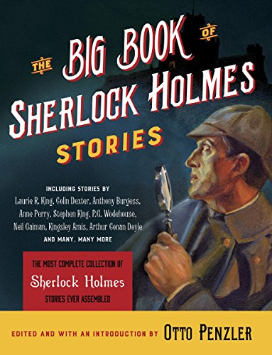 The Big Book of Sherlock Holmes Stories audiobook cover art