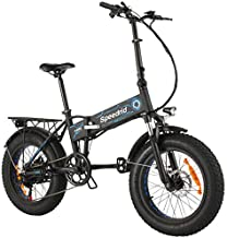 Speedrid Folding Electric Bike Fat Tire Electric Snow Bike 20