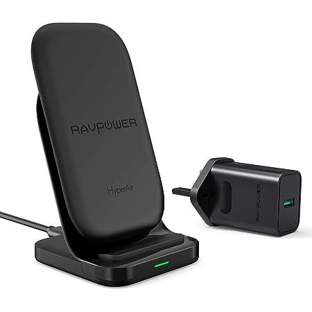 Ravpower Wireless Charging Stand 2 Spulen 7 5 W Fast Elektronik