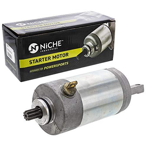 NICHE Starter Motor Assembly 3FA-81800-01 High Torque for 1989-2013 Yamaha Breeze 125 Grizzly 125 YFA1 YFM125