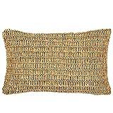 Pad - Roo – Federa per cuscino, cuscino decorativo, stile boho, 30 x 50 cm – filato di carta – senza imbottitura