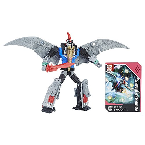 Hasbro Transformers: Generations Power of The Primes Deluxe Class Dinobot Swoop