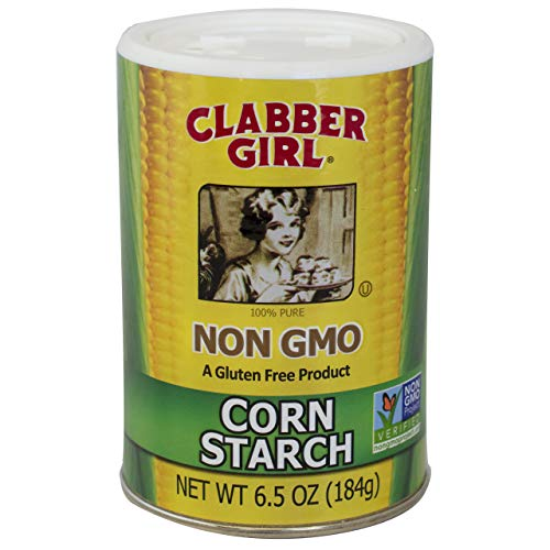 Clabber Girl Non-Gmo Corn Starch, 6.5 Ounce (Pack of 12)