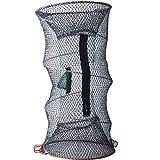 Foldable Crayfish Crab Lobster Fish Trap Net Pot 30cm