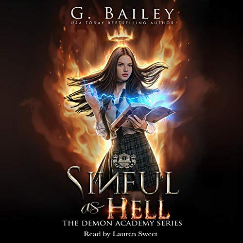 Sinful as Hell: The Demon Academy, Book 1