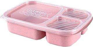 弁当箱 ランチボックス 食品入れ 保温 大容量 汁漏れにくい 仕切り 持ち運び便利 薄型 通学 通勤 遠足 男女兼用 4色