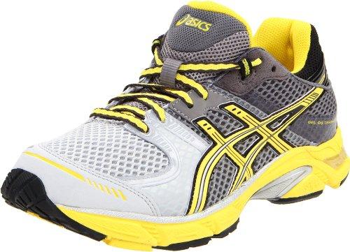 ASICSGel DS Trainer 17-W - Gel-ds Trainer 17, Sneaker Damen, Grau (Titanium/Flash Yellow/Lightning), 36.5 B(M) EU