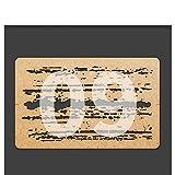 Sankuai 1PC pour Liang-0009 Effets de Chipping Effets d'aérographe Pochoirs à l'aérographe Outil en Carton pour 1/24 1/35 1/48 Modèle d'échelle Accessoires DIY