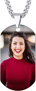 PROSTEEL Collar de Placa Personalizable Opcional, Foto