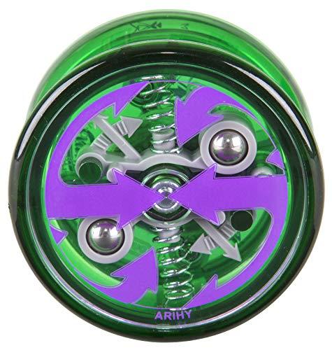 Duncan Toys Reflex Auto Return Yo-Yo, Beginner String Trick Yo-Yo, Green