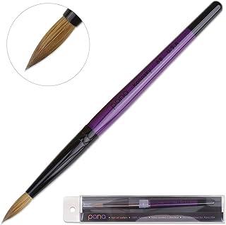 Profession Purple Wood Kolinsky Acrylic Nail Brush (Size: 6, 8, 10, 12, 14, 16, 18, 20, 22) PANA Brand High End Quality 100% Pure Kolinsky Hair (Size 6)
