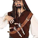 Guirca 17282 - Cinta Pecho con Dos Pistolas Piratas