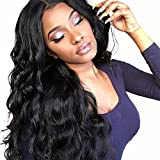 Echthaar Perücke Body Wave Wig Human Hair Wig Peruvian Natural Color T Part Lace Closure Virgin Hair Wigs Hd Transparent Lace Front Human Hair Wigs For Black Women Glueless With Baby Hair 28 Inch