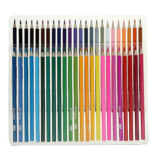 A/N Buntstifte 48/72/120/160 Farben Künstler-Ölgemälde Sketching Holz Farbe Bleistift Schule Kunst liefert professionelle Farbstifte Set (Color : Multi-Colored, Size : 48c)