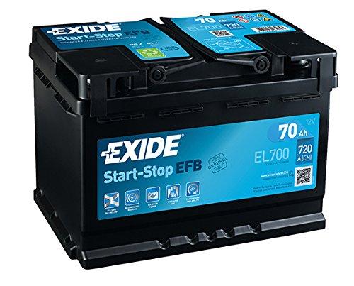 Fulmen–Batteria auto start and stop EL70012V 70Ah 630a