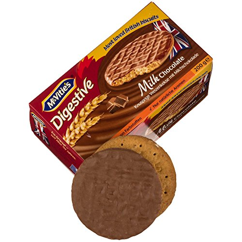 McVitie's Digestive Milk Chocolate 200 g (1 x 200 g)