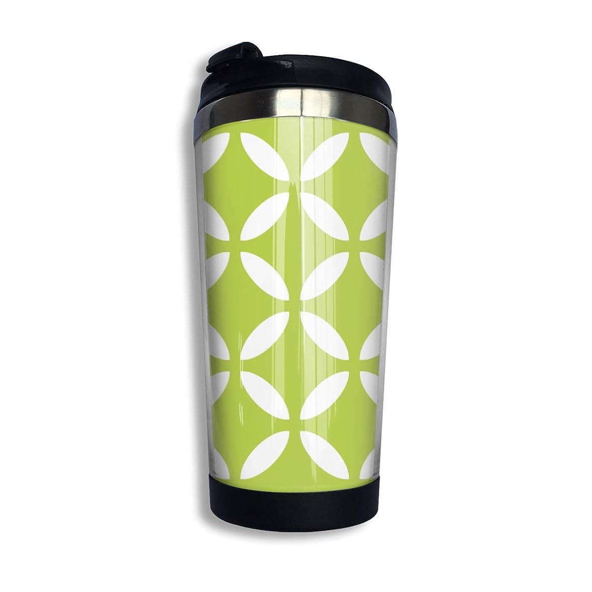 疑わしい必要性ひまわりMilicamp マグボトル 水筒 直飲み 魔法瓶 400ml ステンレスマグボトル 保温 カップ おしゃれ ライムグリーンの屋外 コーヒー コップ 蓋付き 真空断熱タンブラー ステンレスボトル オフィス ギフト 贈り物