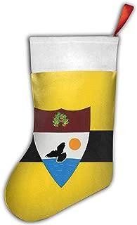 QAZWSX Flag of Liberland Personalized Christmas Hanging Stockings Bag Socks Christmas Tree Decoration Custom Gifts (Christmas Tree Decoration)