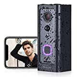 Video Doorbell Camera VALKIA Wireless Doorbell with WIFI 1080P HD Wide Angle View, 2-Way Audio, Motion Activated Alerts, Night Vision Motion Detector, IP65 Weatherproof for Office Home Security System