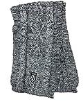 perseo trade - Bufanda oficial de la Juventus, de acrílico y mezcla con bordado de malla