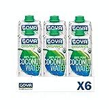 Goya Agua de coco orgánica - 6 unidades x 500ml 3000 g