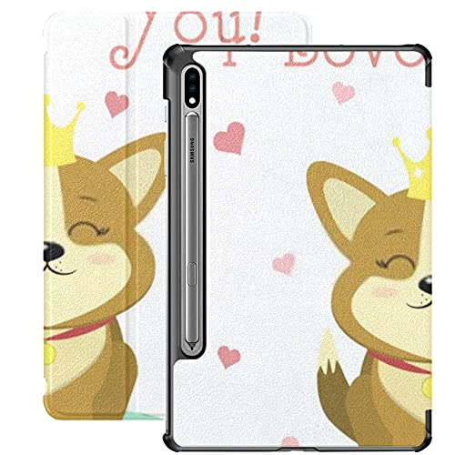Funda para Galaxy Tab S7 Funda Delgada y Ligera con Soporte para Tableta Samsung Galaxy Tab S7 de 11 Pulgadas Sm-t870 Sm-t875 Sm-t878 2020 Release,Felicitaciones por el día de San Valentín Lin