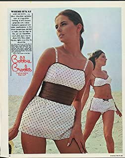 Where it's at Lots of dots Bobbie Brooks Swimsuit ad 1969
