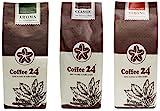 Sonderangebot 3 x 250g Vietnamesischer Kaffee – Organischer Anbau – Drei verschiedene Sorten – Hochwertige Kaffeebohnen – Kaffee Vietnam
